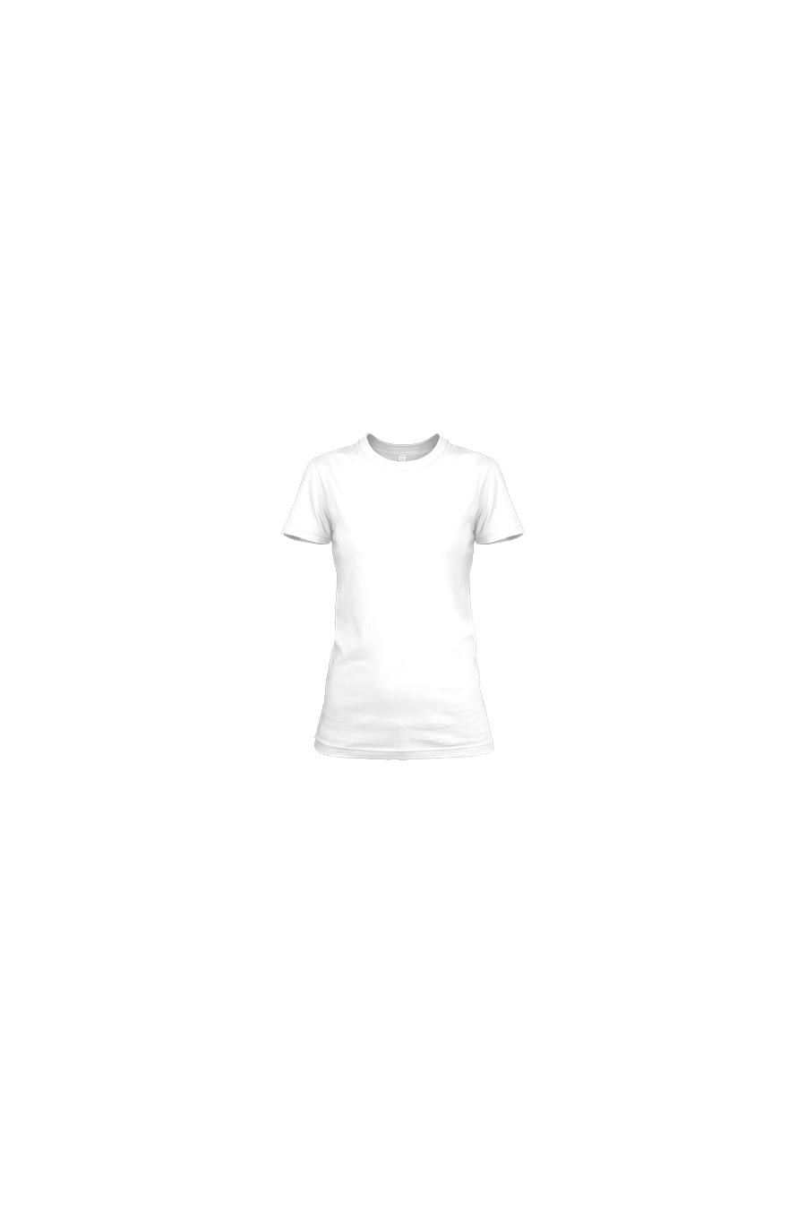 Ladies Heavy Cotton Short Sleeve T-Shirt